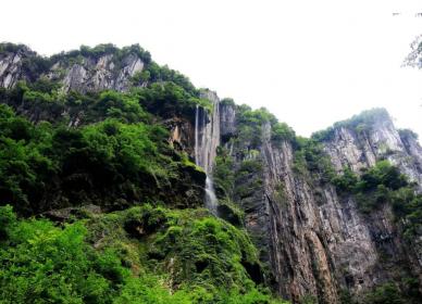 秀山黑洞河大峡谷